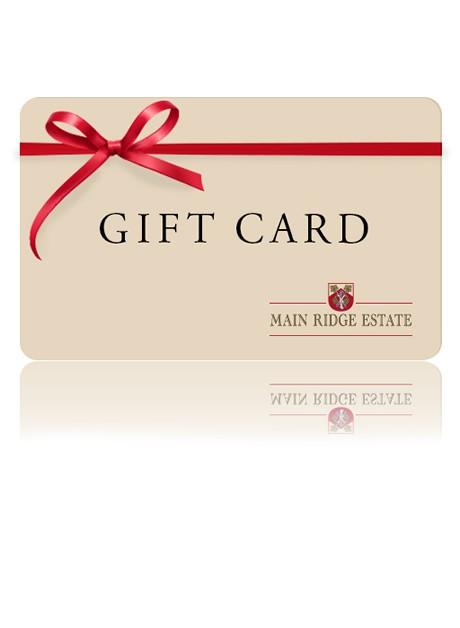 Main Ridge Estate | Gift Card
