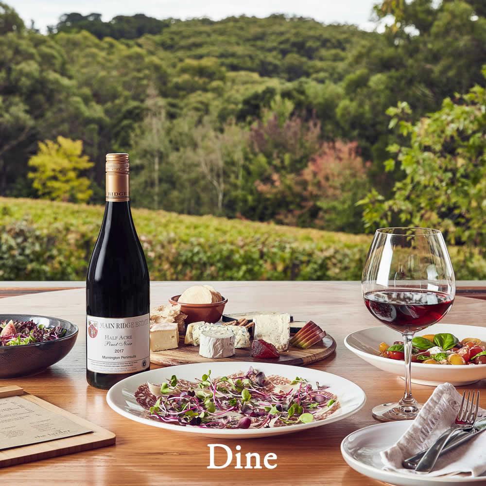 Main Ridge Estate | Mornington Peninsula Winery | Cellar Door | Dine
